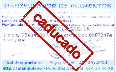 Certificado de manipulador de alimentos online inicio ideakube magz - Certificado manipulador de alimentos gratis ...